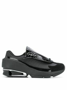 Y-3 signature slip-on sneakers - Black