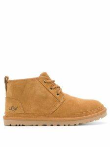 Ugg Australia flat lace-up boots - NEUTRALS