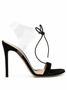 Gianvito Rossi Estelle PVC sandals - Black