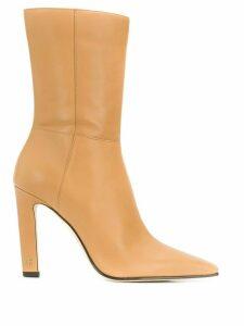 Jimmy Choo Merle 100 boots - Brown