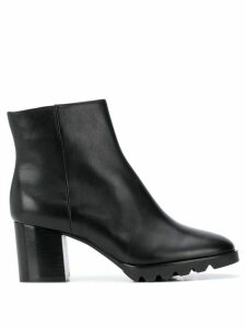 Hogl leather ankle boots - Black