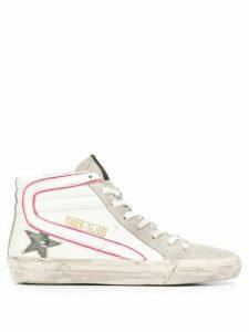 Golden Goose Slide high top sneakers - White