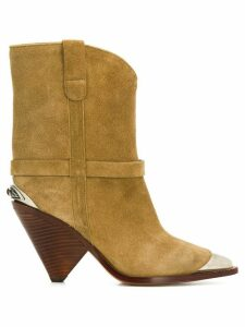 Isabel Marant Lamsy boots - NEUTRALS