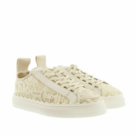 Chloé Sneakers - Lace Sneakers Mild Beige - white - Sneakers for ladies
