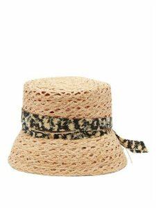 House Of Lafayette - Biba Straw Bucket Hat - Womens - Beige