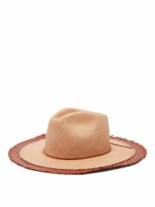 House Of Lafayette - Jimmy Straw Panama Hat - Womens - Pink