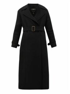 Weekend Max Mara - Aris Virgin Wool-blend Coat - Womens - Black
