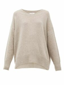 Allude - Oversized Cashmere Sweater - Womens - Grey