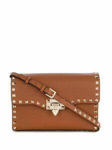 Valentino small Valentino Garavani Rockstud crossbody bag - Brown