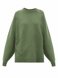 Tibi - Oversized Cashmere Sweater - Womens - Green