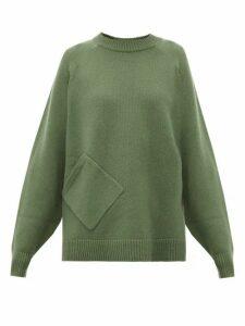 Tibi - Oversized Cashmere Sweater - Womens - Green