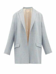 Roksanda - Shida Oversized Blazer - Womens - Grey