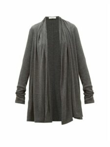 The Row - Knightsbridge Cardigan - Womens - Dark Grey