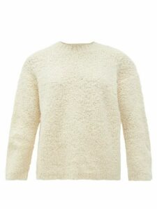 Lauren Manoogian - Alpaca-blend Bouclé Sweater - Womens - White