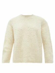 Lauren Manoogian - Alpaca-blend Bouclé Sweater - Womens - White