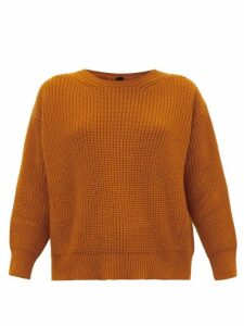 Petar Petrov - Kory Back-split Cashmere Sweater - Womens - Orange