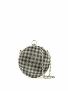 Whiting And Davis metallic cross-body bag - SILVER