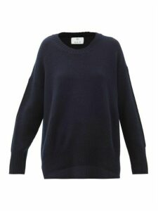 Allude - Cashmere Sweater - Womens - Navy