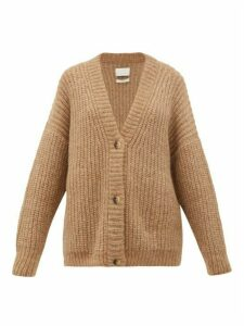 Lauren Manoogian - Fisherman Chunky-knit Alpaca-blend Cardigan - Womens - Camel