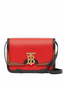 Burberry small TB crossbody bag - Red