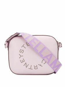 Stella McCartney logo strap cross body bag - PURPLE