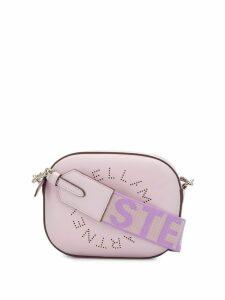 Stella McCartney perforated logo belt bag - PINK
