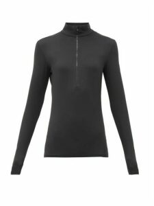 Fusalp - Gemini Iii Half-zip Jersey Mid-layer Jacket - Womens - Black