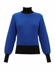Fusalp - Muzelle High-neck Ribbed-knit Sweater - Womens - Navy
