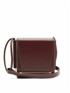 Roksanda - Box Leather Cross-body Bag - Womens - Brown