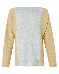 Monsoon Katia Colour Block Jumper