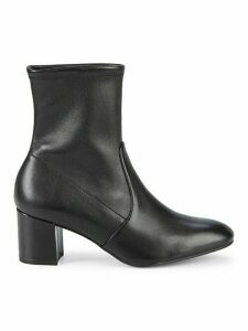 Siggy Stretch Leather Booties