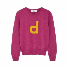 Hades Alphabet D Raspberry Wool Jumper