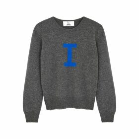 Hades Alphabet I Dark Grey Wool Jumper