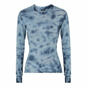 Villao Blue Tie-dyed Cashmere Jumper