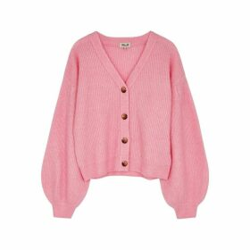 Baum Und Pferdgarten Celine Pink Knitted Cardigan