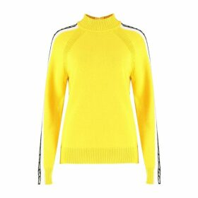 MICHAEL Michael Kors Logo-trim Turtleneck Sweater