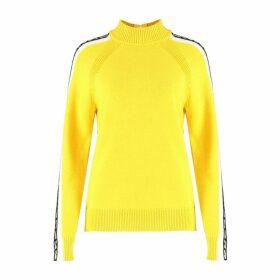 MICHAEL Michael Kors Logo-trim Turtleneck Sweater