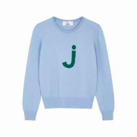 HADES Alphabet J Light Blue Wool Jumper