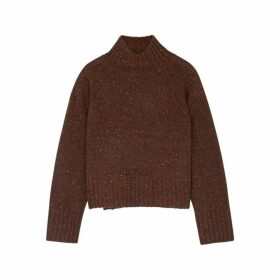 BY MALENE BIRGER Vanesa Flecked Wool-blend Jumper