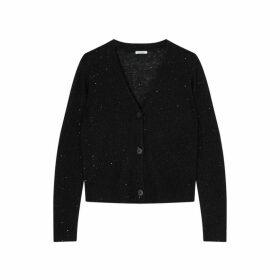 Jigsaw Sparkle Knit Cardigan