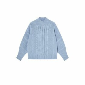 Jigsaw Slouchy Cable Jumper
