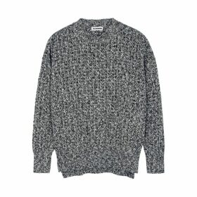 Jil Sander Navy Chunky-knit Cotton Jumper