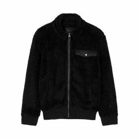 Rails Austin Black Fleece Jacket