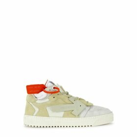 Off-White 3.0 Panelled Suede Sneakers