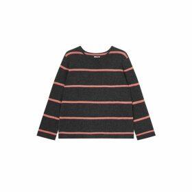 Jigsaw Cashmere Stripe Slouchy Jumper