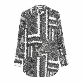 BY MALENE BIRGER Cologne Monochrome Lace-print Shirt