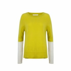 Duffy Thermal Colorblock Crew Neck
