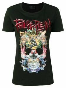 Philipp Plein embellished skull T-shirt - Black