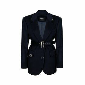 CHAEnewyork - Back To Classic Tailored Jacket Deep Navy