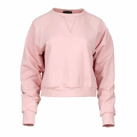 CHAEnewyork - Puffy Duffy Zip-Up Faux Fur Hoodie Bomber White